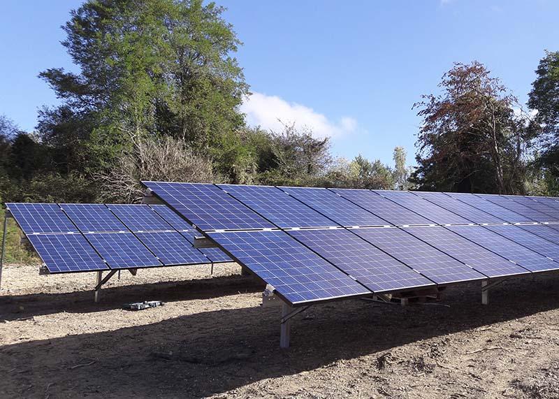 Solaranlage Sadirac